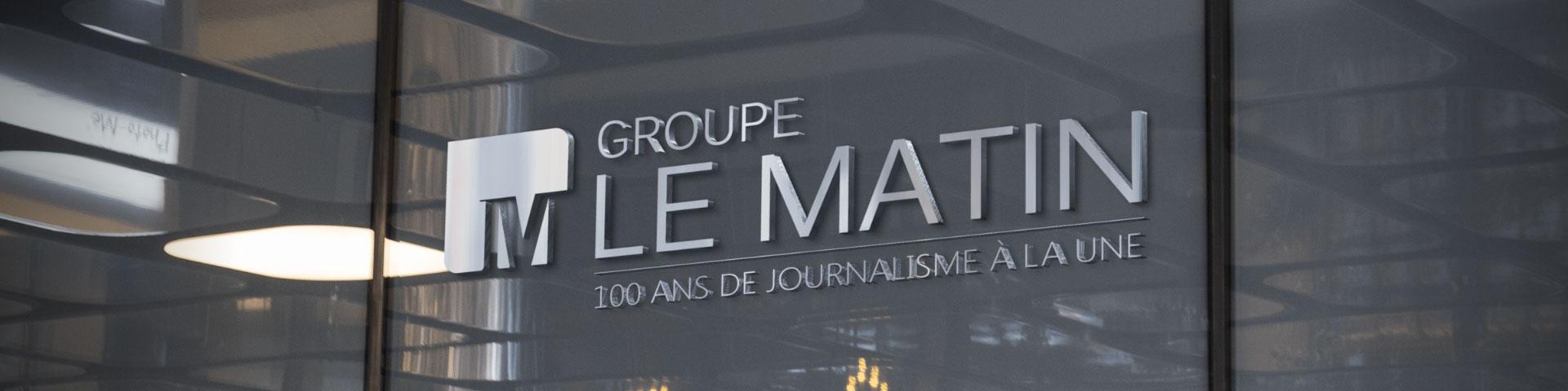 Logo Groupe Le Matin